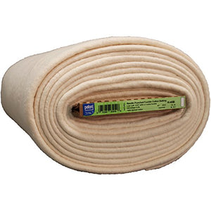 "Pellon H-45B FOB: MI Fusible Cotton Batting, 45"" x 20 yd"