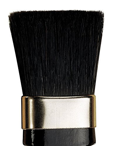 da Vinci Varnish & Priming Series 2011 Extra Thick Lacquering Brush, Straight Chisel Edge Black Chinese Bristle with Black/Red Polished Handle, Size 50