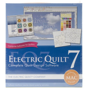 Electric Quilt A-007MAC  Art and Craft  7 for MAC