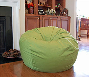 Ahh! Products Lime Organic Cotton Large Bean Bag Chair