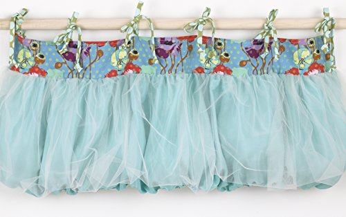 Cotton Tale Designs Lagoon 8 Piece Set, Turquoise/Purple/Orange/Green, Standard Crib