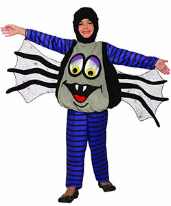 Forum Novelties Unisex-Children Wiggle Eyes Spider Child's Costume, Multi Color, Toddler