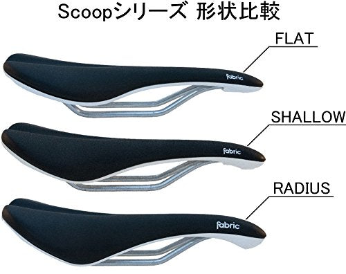 Fabric Scoop Elite Shallow Saddle: Black