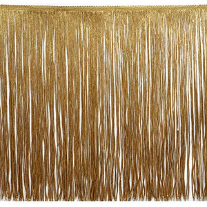Expo International 20-Yard Chainette Fringe Trim, 12-Inch, Gold
