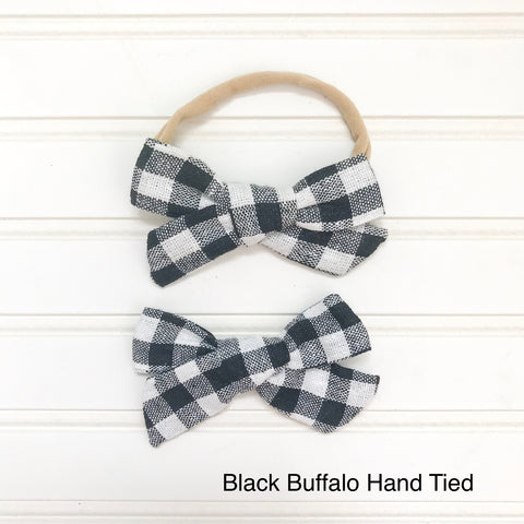 Black Buffalo Hand Tied