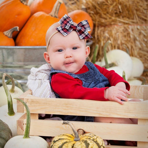 Fall Plaid Sweetie Headband