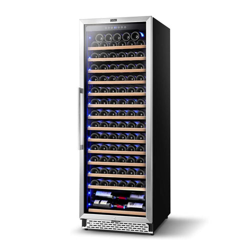 "Image of Colzer Wine Cooler 24"" Wide 154 Bottles Elegant Single Zone YC-408A"