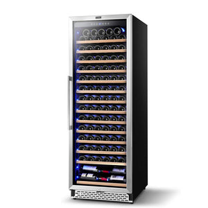 "Colzer Wine Cooler 24"" Wide 154 Bottles Elegant Single Zone YC-408A"