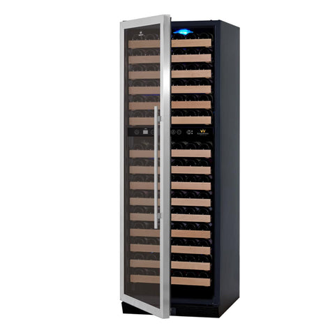 "KingsBottle Wine Cooler KBU-170DX- 24"" Wide 164 BottlesDual Zone"