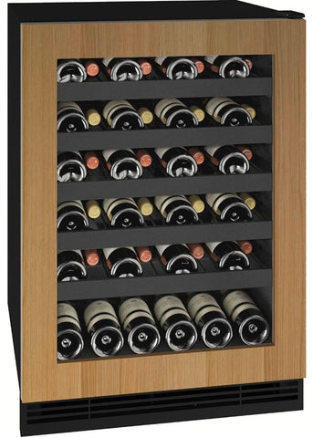 "U-Line UHWC124-SG01A Wine Cooler 48 Bottles 24"" Wide 1 Class"