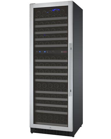 "Image of Allavino 172 Bottles Allavino VSWR172-2SL20 Wine Refrigerator 24"" Wide 172 Bottle FlexCount II Series Dual Zone Stainless Steel"