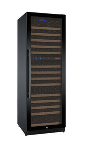"Allavino 172 Bottles Right Allavino VSWR172-2BL20 Wine Refrigerator 24"" Wide 172 Bottle FlexCount II Series Dual Zone Black"