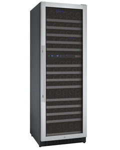"Allavino 172 Bottles Right Allavino VSWR172-2SL20 Wine Refrigerator 24"" Wide 172 Bottle FlexCount II Series Dual Zone Stainless Steel"