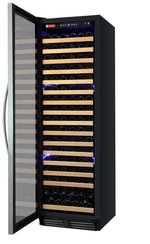 "Image of Allavino 174 Bottles Allavino YHWR174-1SL20 Wine Refrigerator 24"" Wide 174 Bottle FlexCount Classic Single Zone Stainless Steel"