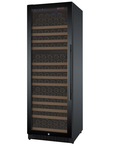 "Image of Allavino 177 Bottles Allavino VSWR177-1BL20 Wine Refrigerator 24"" Wide 177 Bottle FlexCount II Series Single Zone Black"
