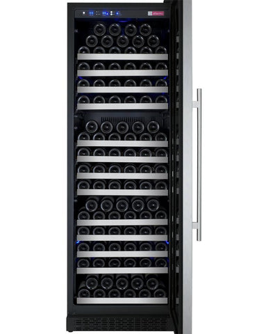 "Image of Allavino 177 Bottles Allavino VSWR177-1SL20 Wine Refrigerator 24"" Wide 177 Bottle FlexCount II Series Single Zone Stainless Steel"
