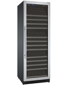 "Allavino 177 Bottles Right Allavino VSWR177-1SL20 Wine Refrigerator 24"" Wide 177 Bottle FlexCount II Series Single Zone Stainless Steel"