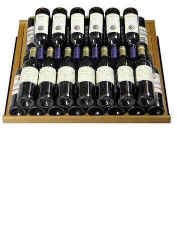 "Allavino 305 Bottles Allavino YHWR305-1BR20 Wine Refrigerator 32"" Wide 305 Bottle Vite II Tru-Vino Single Zone Black"