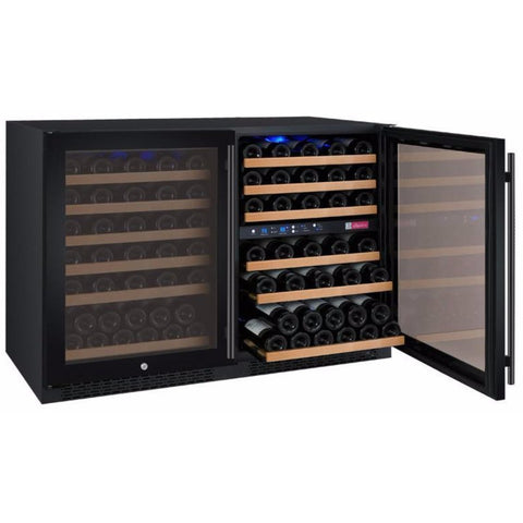 Allavino 3Z-VSWR5656-BWT 112 Bottle FlexCount Series Three Zone Refrigerator Wine Cooler - Allavino - 112 Bottles