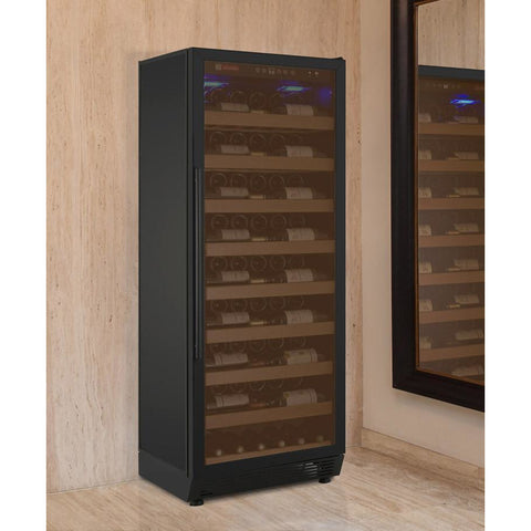 Image of Allavino YHWR115-1BRN 115 Bottle Vite Series Single Zone Refrigerator Wine Cooler - Allavino - 115 Bottles