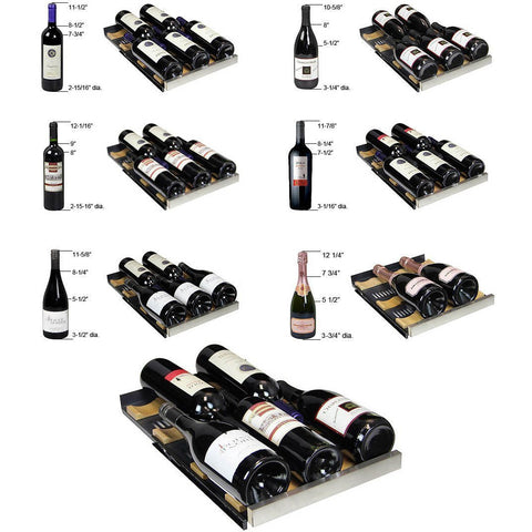 Image of Allavino VSWR30-1SSRN 30 Bottle FlexCount Series Single Zone Refrigerator Wine Cooler - Allavino - 30 Bottles