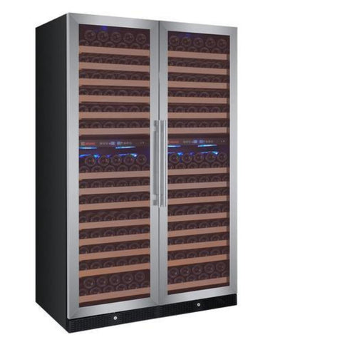 Allavino  3Z-YHWR7274-SW 346 Bottle Flexcount Classic Three Zone Wine Cooler - Allavino - 346 Bottles