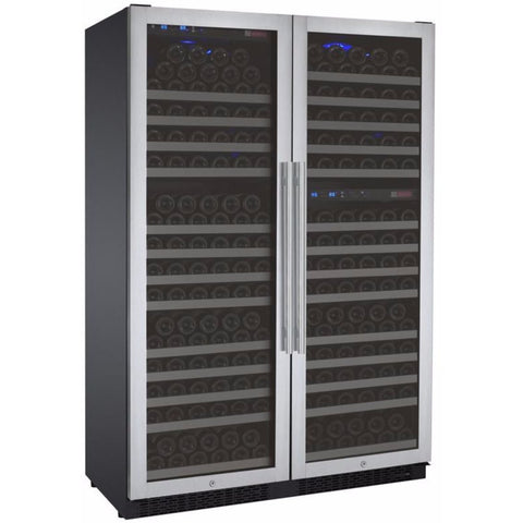 Image of Allavino 3Z-VSWR7772-SST 349 Bottle Flexcount Three Zone Refrigerator Wine Cooler - Allavino - 349 Bottles