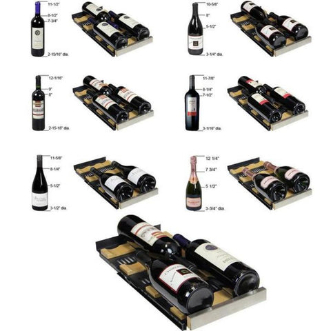 Image of Allavino  VSWR36-2BWFN 36 Bottle FlexCount Series Dual Zone Refrigerator Wine Cooler - Allavino - 36 Bottles