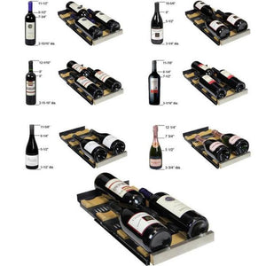 Allavino  VSWR36-2BWFN 36 Bottle FlexCount Series Dual Zone Refrigerator Wine Cooler - Allavino - 36 Bottles