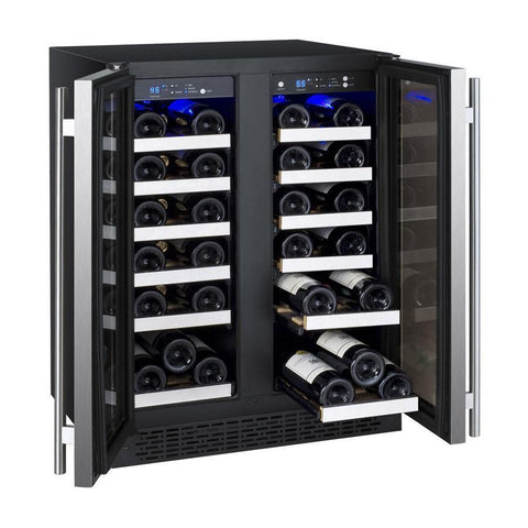 Image of Allavino VSWR36-2SSFN 36 Bottle FlexCount Series Dual Zone Refrigerator Wine Cooler - Allavino - 36 Bottles