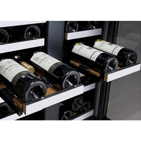 Allavino VSWR36-2SSFN 36 Bottle FlexCount Series Dual Zone Refrigerator Wine Cooler - Allavino - 36 Bottles