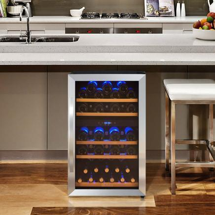 Image of Allavino CDWR44-2SWT 44 Bottle Cascina Series Dual Zone Refrigerator Wine Cooler - Allavino - 44 Bottles