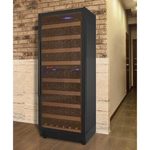 Image of Allavino YHWR99-2BRN 99 Bottle Vite Series Dual Zone Refrigerator Wine Cooler - Allavino - 99 Bottles