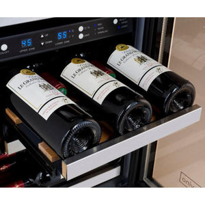 Allavino3Z-VSWB15-3SST  Flexcount Dual Zone Beverage Center and Wine Cooler - Allavino - 30 Bottles