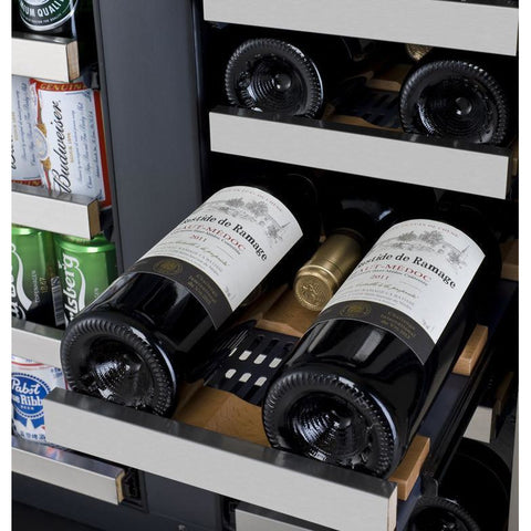 Allavino VSWB-2SSFN 18 Bottle FlexCount Series Refrigerator/Beverage Wine Cooler - Allavino - 18 Bottles
