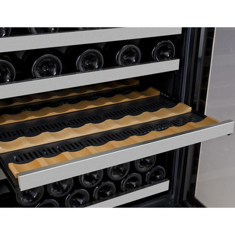 Image of Allavino VSWR56-2SSRN 56 Bottle FlexCount Series Dual Zone Refrigerator Wine Cooler - Allavino - 56 Bottles