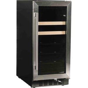 "Azure A115BEV-S Beverage Center- 10 Bottles 15"" Wide Single Zone Freestanding ADA Compliant - Azure - 10 Bottles"