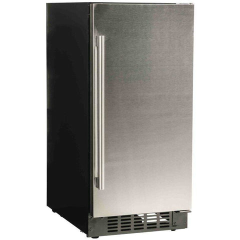 "Image of Azure A115R-S Refrigerator- 3.0 Cu Ft 15"" Wide with Solid Stainless Door ADA Compliant - Azure - 3.0 cu ft"