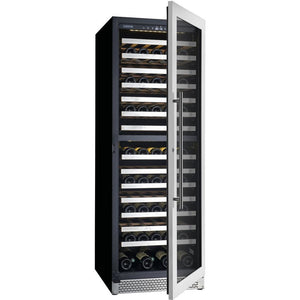Cavavin V153WDZ Vinoa Series 24 Inch Wine Cooler with Dual Zone Temperatures for 153 Bottles - Cavavin - 153 Bottles