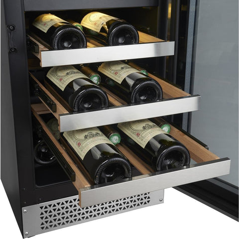 Image of Cavavin V87WBVC Vinoa Series 24 Inch Wine and Beverage Center with Dual Zone Temperature for 42 Bottles - Cavavin - 42 Bottles