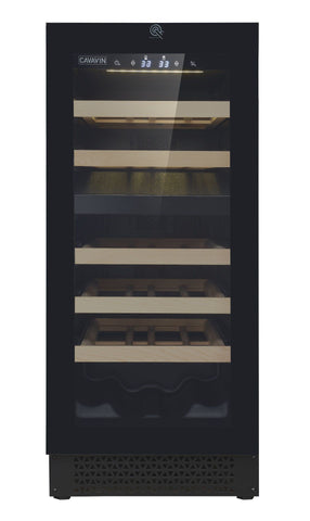 Image of Cavavin V024WDZFG 15 Inch Wine Cooler Dual Zone 24 Bottles
