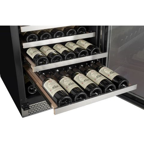 Image of Cavavin V265WSZ Vinoa Series 30 Inch Wine Cooler with Single Zone Temperature for 265 Bottles - Cavavin - 265 Bottles