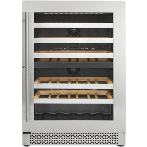 Cavavin V041WDZ Vinoa Series 24 Inch Wine Cooler with Dual Zone Temperatures for 41 Bottles - Cavavin - 41 Bottles
