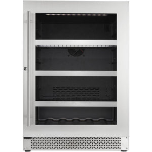 Cavavin V050BVC Vinoa Series 24 Inch Wine and Beverage Center with Single Zone Temperature for 5.0 Cu Ft - Cavavin - 5.0 Cu Ft