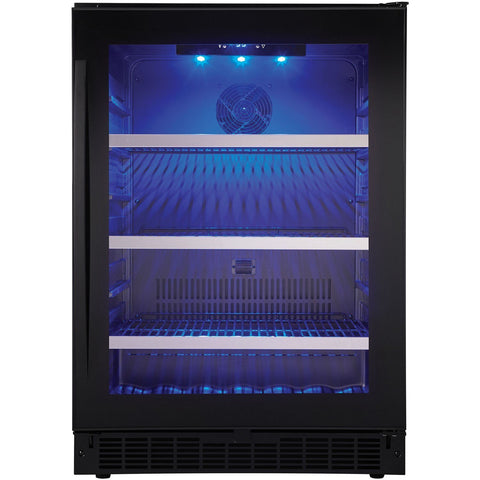 "Danby  SSBC056D2B-S Beverage Center 6 Wine Bottles 24"" Wide Single Zone Wine Center Built In Finish - Danby - 138 BC"