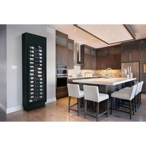 Danby  Contemporary Wine Cooler 30 Bottle Wine Cooler, Digital Thermostat with LED Display, Silhouette Black - Danby - 30 Bottles