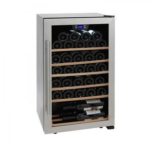 "Kalorik  WCL 43915 Wine Cooler 33 Bottles 19"" Single Zone Stainless Steel Freestanding - Kalorik - 33 Bottles"