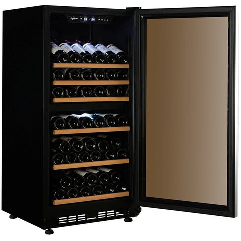 Koolatron WC68DZ Wine Cooler  68 Bottle Dual Zone Freestanding Wine Cooler - Koolatron - 68 Bottles