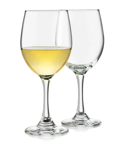 Libbey Wine Glass Libbey Classic White/ Red Wine Glasses, Set of 4