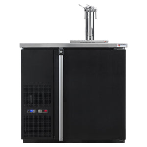 "Micro Matic 4 Keg Dispenser Micro Matic MDD36W-E-A 36 3/4"" 4 Keg Pro-Line Wine E-Series"